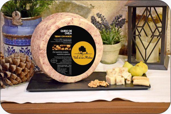 queso de oveja tierno con nueces