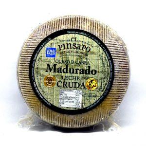 Queso madurado de leche cruda de cabra El Pinsapo