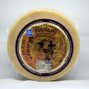 Queso semicurado leche cruda de cabra El Pinsapo.