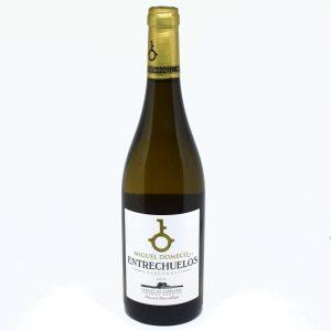 Vino blanco chardonay entrechuelos Miguel Domeq