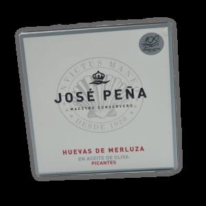 Huevas de Merluza Premium José Peña en Aceite de Oliva