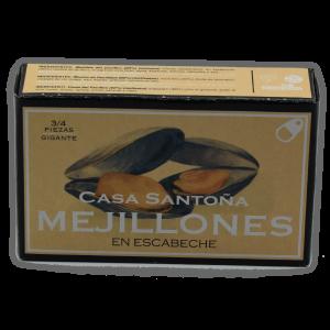 Mejillones en escabeche Casa Santoña