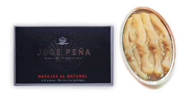 Navajas al natural Premium José Peña