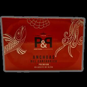 Anchoas del cantabríco premium José Peña en Aceite de Oliva.